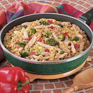 Tasty Turkey Skillet