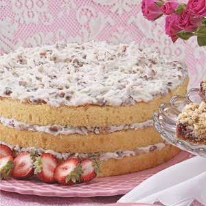 Coconut Cream Torte Recipe