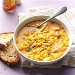 Zippy Chicken & Corn Chowder
