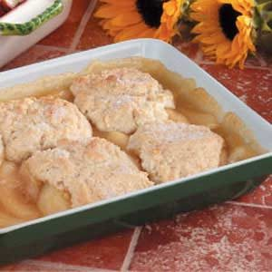 Pear 'n' Apple Cobbler Recipe