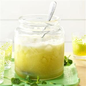 Iced Honeydew Mint Tea