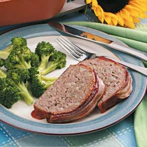 Bacon Meat Loaf Recipe