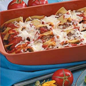 Beef-Stuffed Shells Recipe