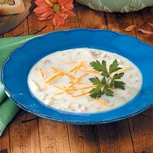 Easy New England Clam Chowder Recipe