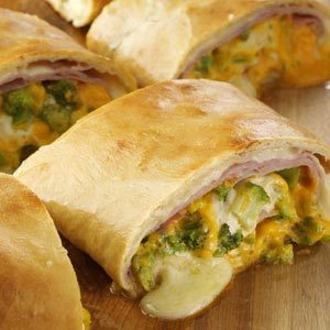 Ham 'N' Cheese Stromboli Recipe