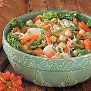 Crunchy Veggie Toss Recipe