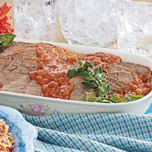 Old-Fashioned Pot Roast with Gravy