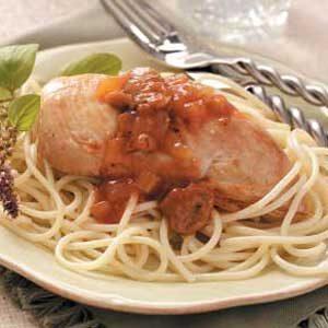 Mushroom Chicken Cacciatore Recipe