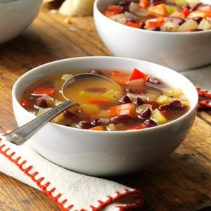 Red Bean Vegetable Soup Recipe