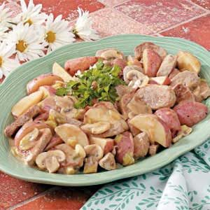 Potato Pork Skillet Recipe