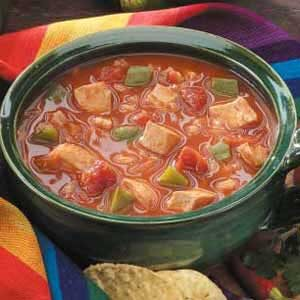 Barley Chicken Chili Recipe