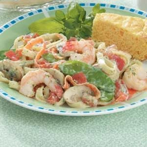 Shrimp Fettuccine Recipe