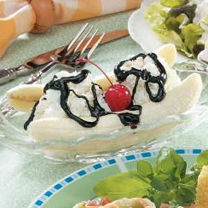 Banana Split Dessert for Two Recipe