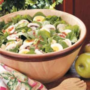 Artichoke Spinach Salad Recipe