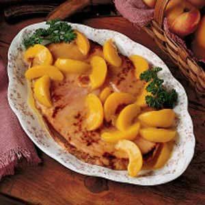 Peachy Ham Slice Recipe