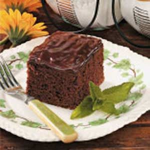 Grandma's Chocolate Cake Recipe
