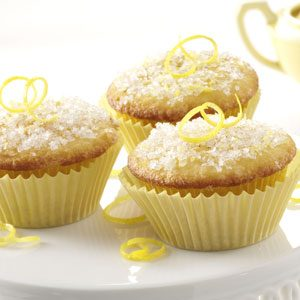 Lemon Sparkle Cupcakes Recipe