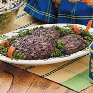 Veggie Beef Patties Recipe