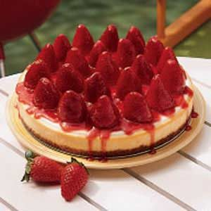 Strawberry Topped Cheesecake Recipe