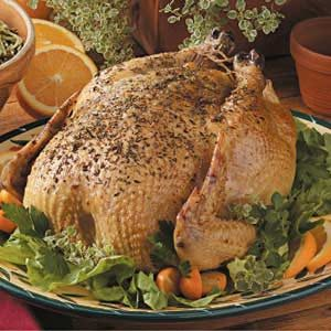 Savory Roasted Chicken Recipe