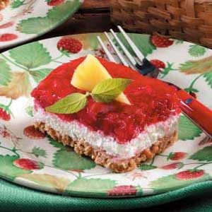 Makeover Strawberry Pretzel Dessert Recipe