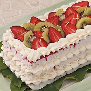 Strawberry Cheesecake Torte