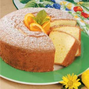Orange Tea Cake Recipe