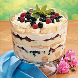 Angel Berry Trifle Recipe photo by Taste of Home