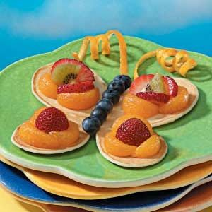 Butterfly Pancakes Recipe