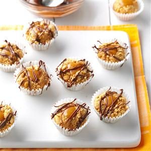 Peanut Caramel Thumbprint No-Bake Cookies