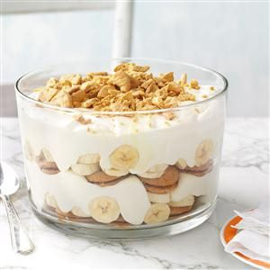 Peanut Butter & Banana Crunch Pudding
