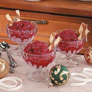 Cranberry Ice Recipe
