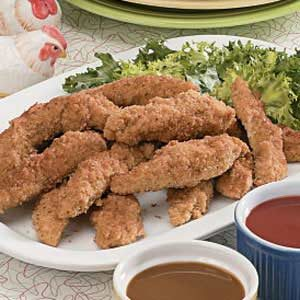 Crispy Chicken Fingers Recipe