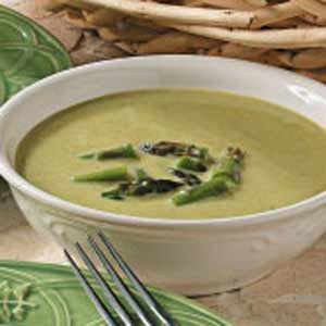 Quick Creamy Asparagus Soup Recipe