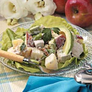 Fruity Chicken Salad for Two Recipe
