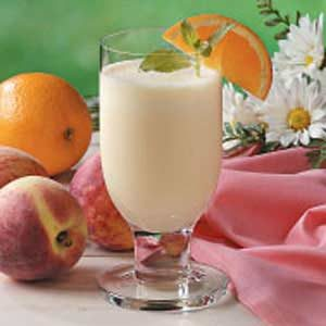 Peachy Orange Shakes Recipe