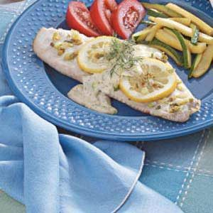 Dilly Red Snapper Recipe