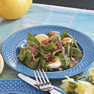 Spinach Salad Supreme Recipe