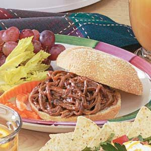 Shredded Barbecue Beef Recipe