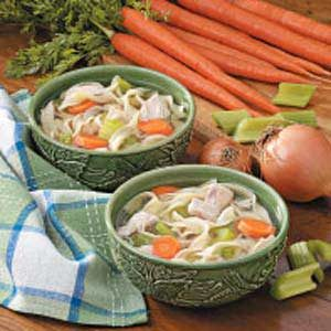 Chicken and Noodle Soup Recipe