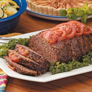 Tomato Meat Loaf Recipe