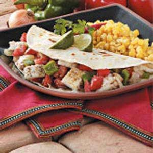 Seafood Soft Tacos Recipe