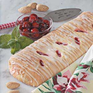 Cherry Cheese Loaves Recipe