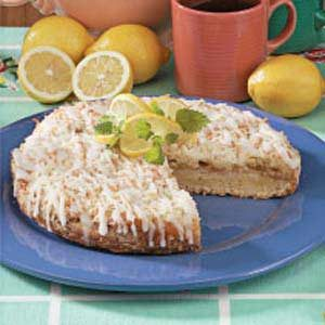 Lemon Curd Coffee Cake Recipe