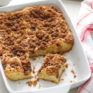 Apple Pear Coffee Cake Recipe