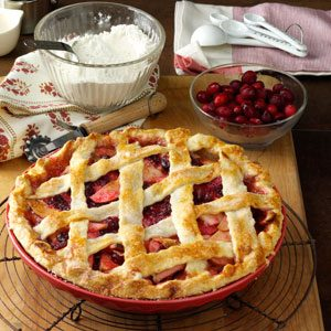 Apple Cranberry Pie Recipe