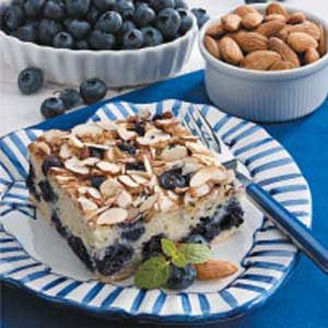 Blueberry Almond Coffee Cake Recipe