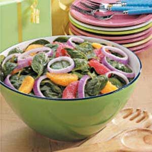 Citrus Spinach Salad