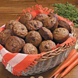 Macadamia Carrot Muffins Recipe