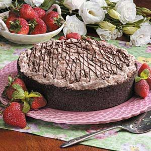 Strawberry Chocolate Torte Recipe